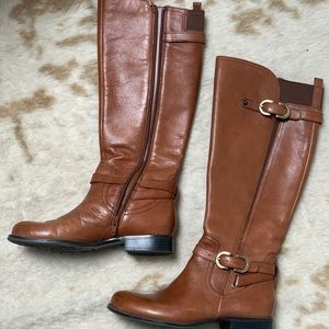 Naturalizer N5 Leather Comfort Riding Boots